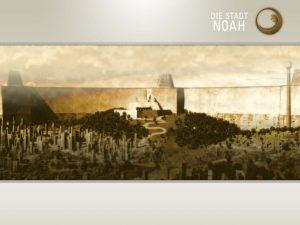 Die Stadt Noah: Titelbildschirm
