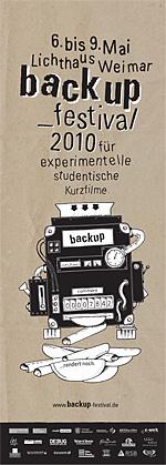 backup_festival 2010: Plakat