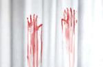 Duschvorhang 'Blutbad'