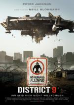 District 9: Deutsches Filmplakat