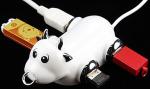 CowCow USB-Hub im Kuh-Design