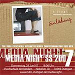 Einladung zur MediaNight