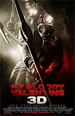 My Bloody Valentine 3D - Poster