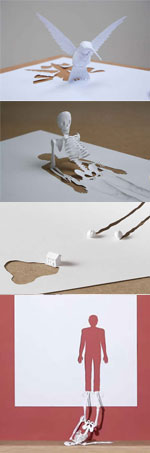 """Paper Cuts"" von Peter Callesen"