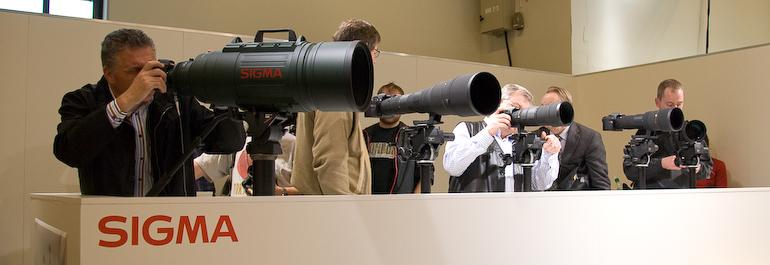 Extreme Teleobjektive zum Ausprobieren - Photokina 2008