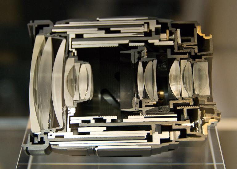 Die Innereien eines Objektives - Photokina 2008