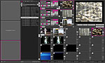 Screenshot einer VJ-Software