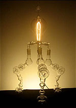 Light Bulb Sculptures by Dylan Kehde Roelofs