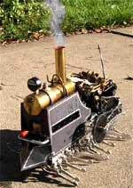 Dampfroboter