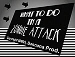 Screenshot: What To Do In A Zombie Attack