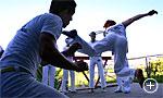Capoeira-Tänzer