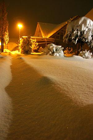 Viel Schnee in Staufen